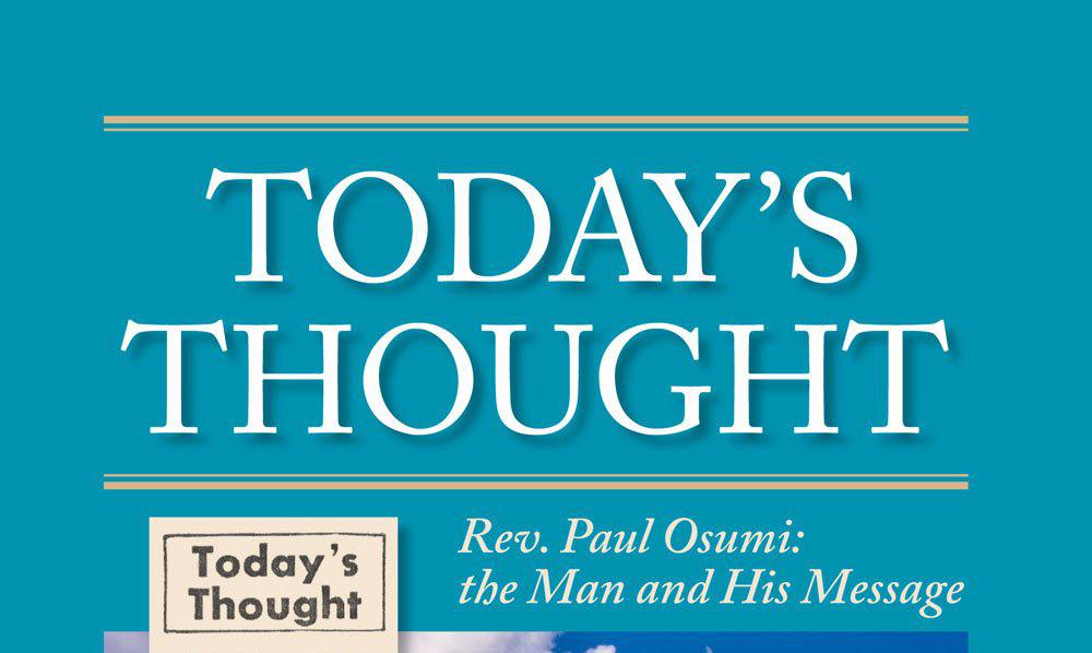 Rev. Paul Osumi