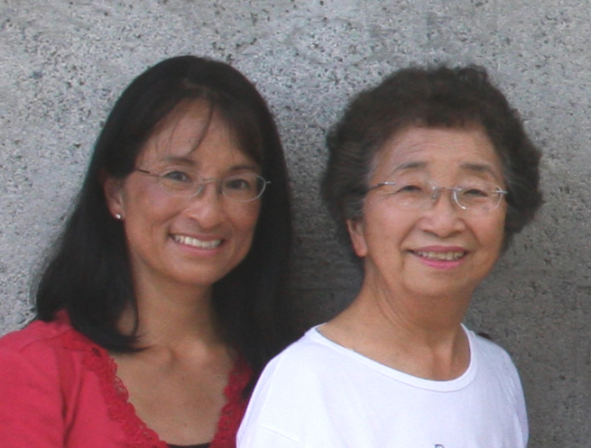 Photo of Carolyn Kubota Morinishi and Marian Kurosaki Kubota