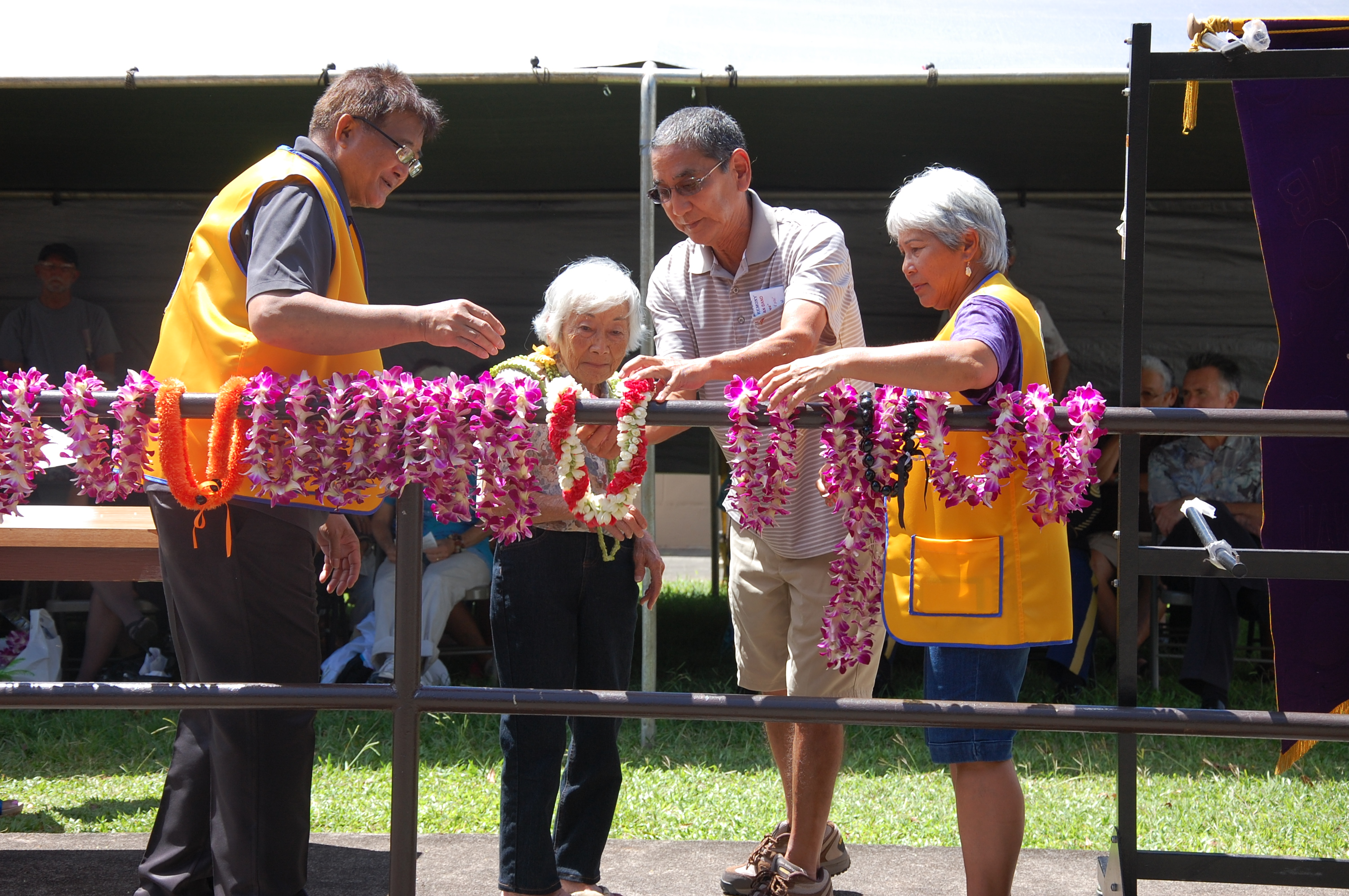 Photo of Second Annual Wahiawa War Memorial ceremony