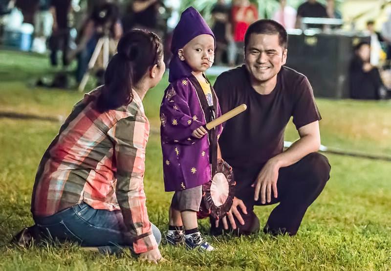 Photo of 5-year-old Soya Miyagi and family