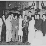 Photo of Robert Oshiro being honored at a John A. Burns Foundation fundraiser