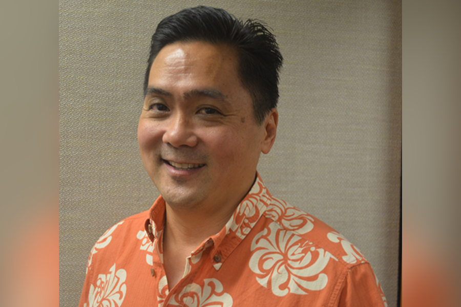 Photo of New Sergeant-at-Arms, Rod Tanonaka