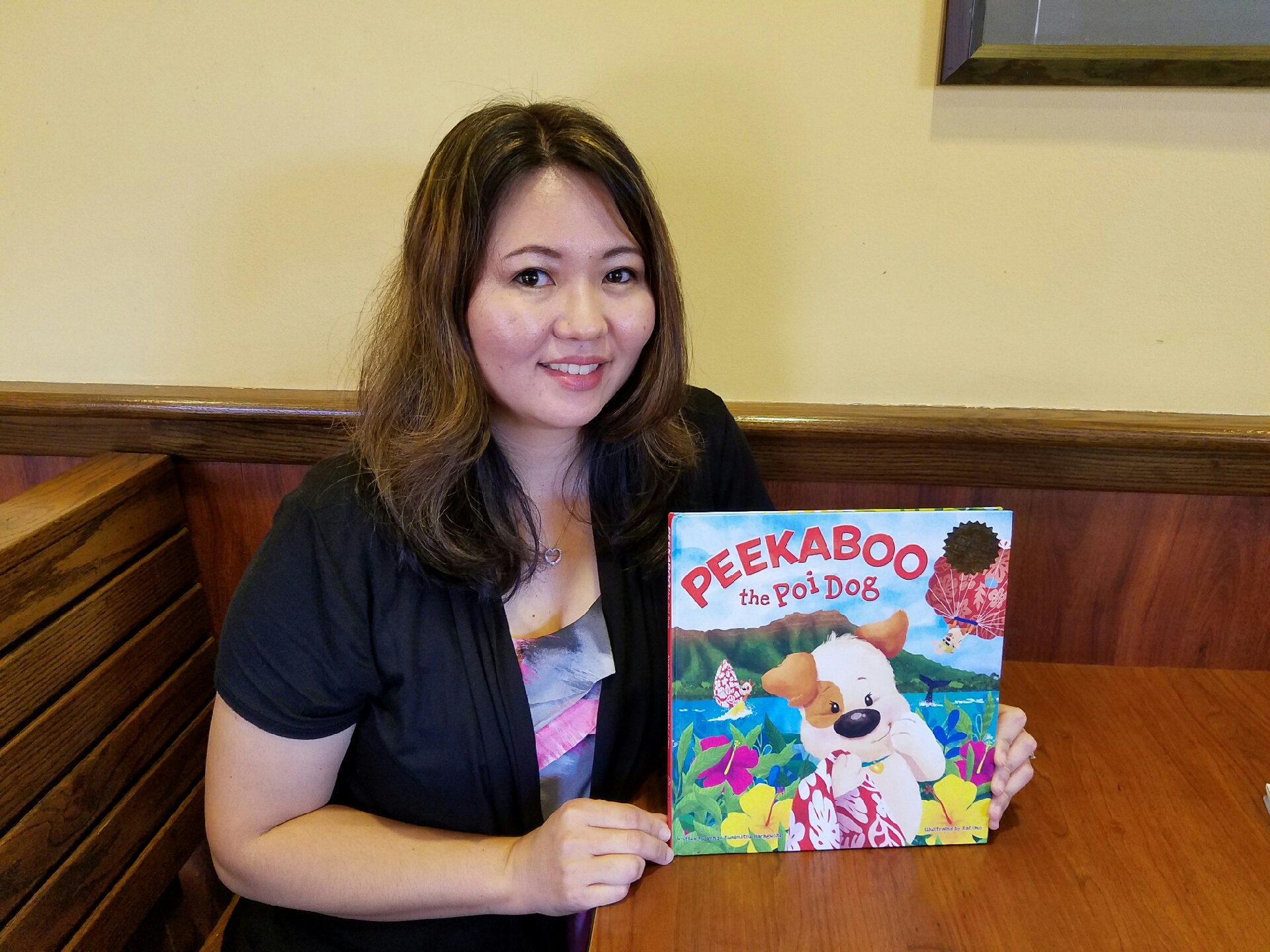 Photo of children book author, Wendy Ku-nimitsu Haraguchi