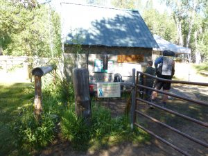Photo of the John Muir Ranch, making the halfway point of the trail