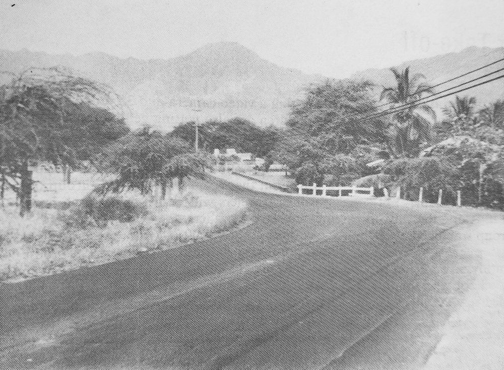 Photo of the guardhouse that served to restrict the AJA farmers from their homes