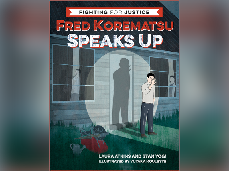 "Book cover for ""Fred Korematsu Speaks Up"""