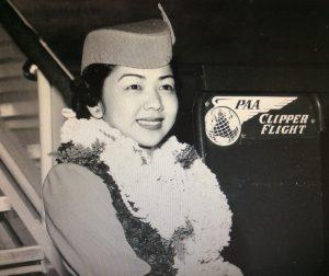 Photo of May (Hayashi) Tsukiyama at her graduation. (Photos courtesy Betty Santoki)