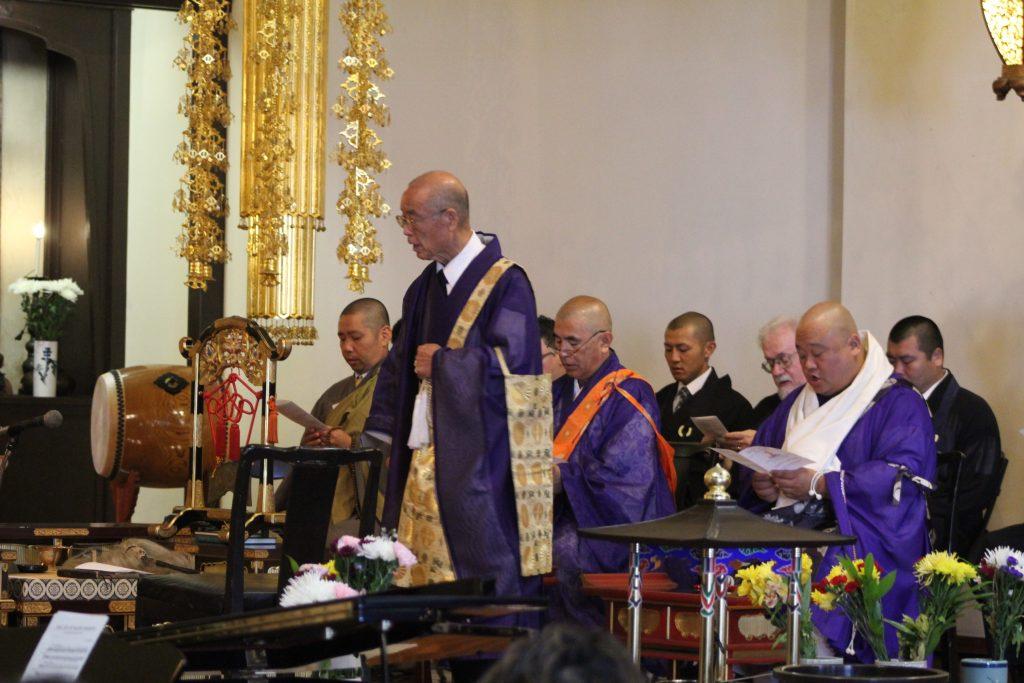 Photo of Hanamatsuri ceremony