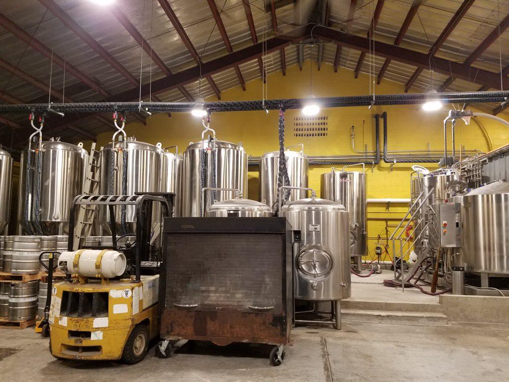 Aloha Beer Company's brewery and smoker. (Photos by Ryan Tatsumoto)