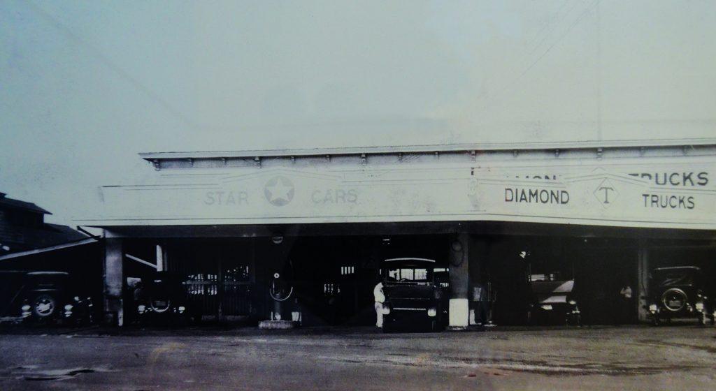Photo of garage