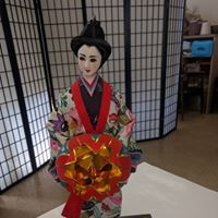 Photo of Japanese Doll at Asian Treasures Fair