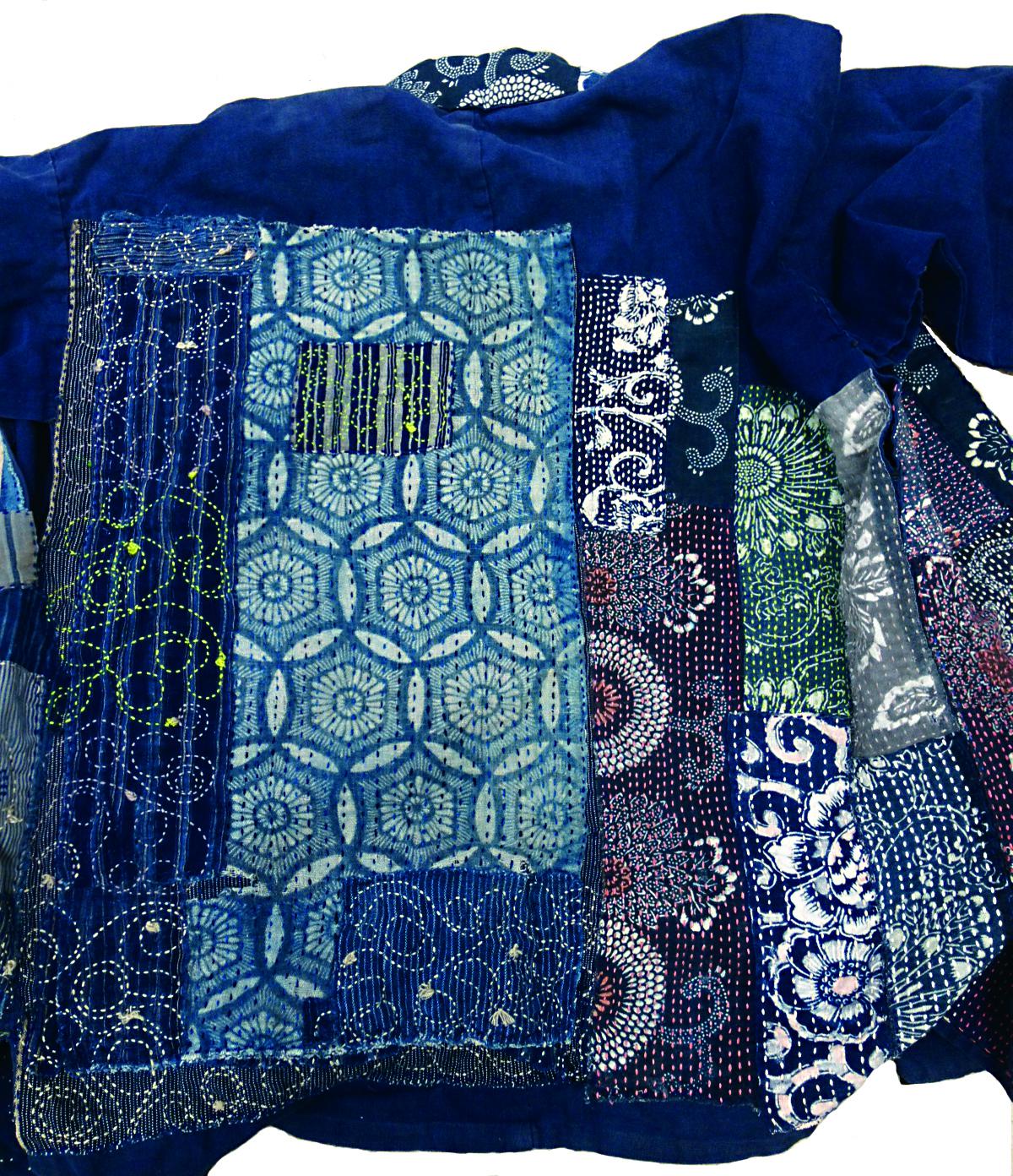 Photo of Temari fabric, promoting Temari Workshops being held at Hawaii Japanese Center in Hilo
