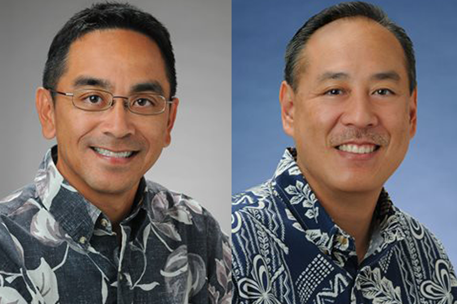 Central Pacific Banks Scott Kurosawa and Lance Oribio