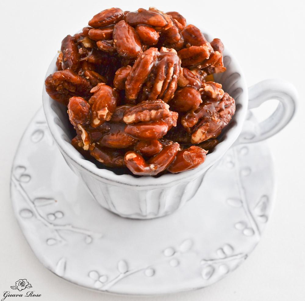 Honey Caramel Nuts. (Photos from guavarose.com)