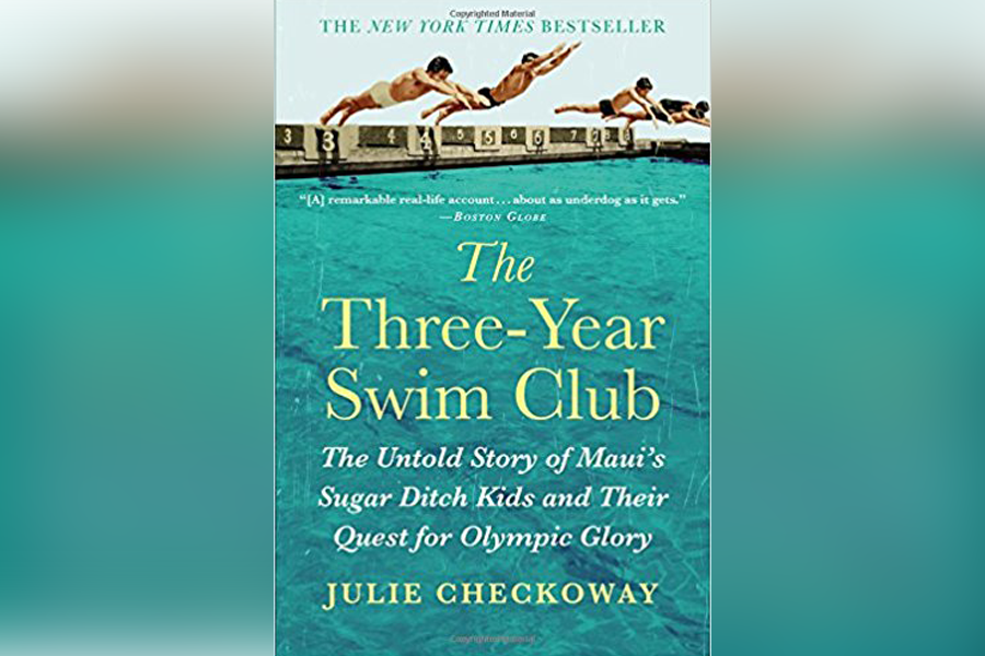 "Book Cover for ""The Three-Year Swim Club"" By Julie Checkoway"