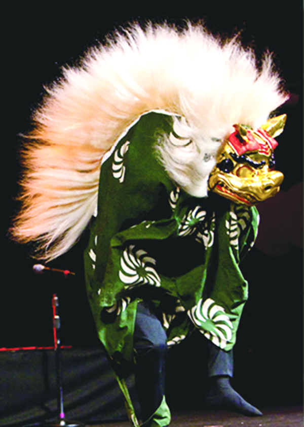 Photo of Edo Sato Kagura (Festival and Shinto shrine music and dance), featuring Kyosuke Suzuki