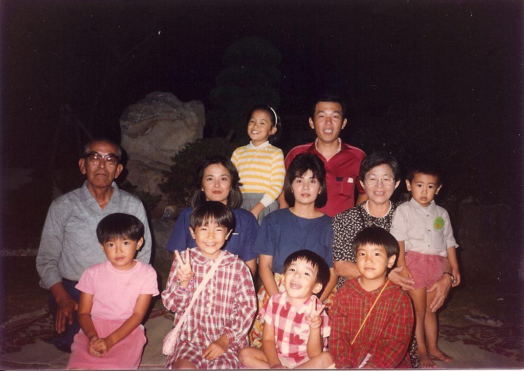 Photo from 1986 Okinawa trip, family photo