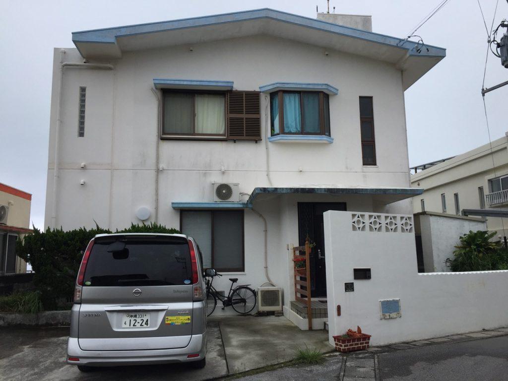 Our 18-year-old family home in Nagahama, Yomitan. (Photos courtesy Colin Sewake)