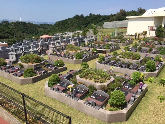 Gushikawa Memorial Park is an established cemetery that makes visiting departed loved one safe and easy. (Photos by Colin Sewake)
