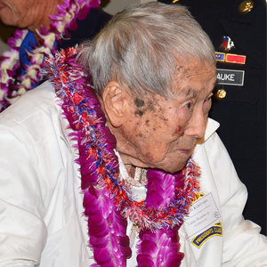 100th Battalion Veteran, Akiyoshi Kuriyama