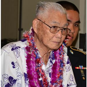 100th Battalion Veteran, Thomas Nikaido