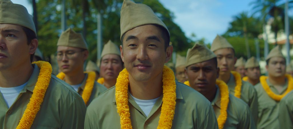 """A scene from """"Go For Broke — A 442 Origins Story,"""" which will premiere on Sunday, Nov. 12, at 7:30 p.m. at the Hawaii Theatre. (Photo courtesy HIFF)"""