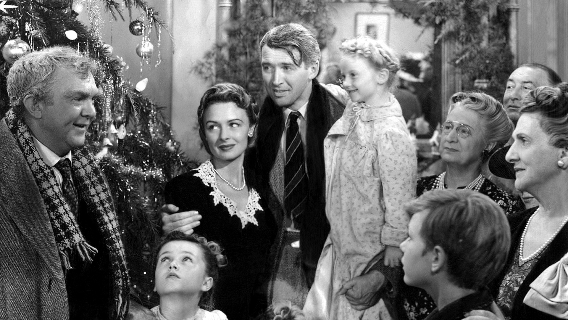 "A scene from Frank Capra's ""It's A Wonderful Life."" (Courtesy photo)"
