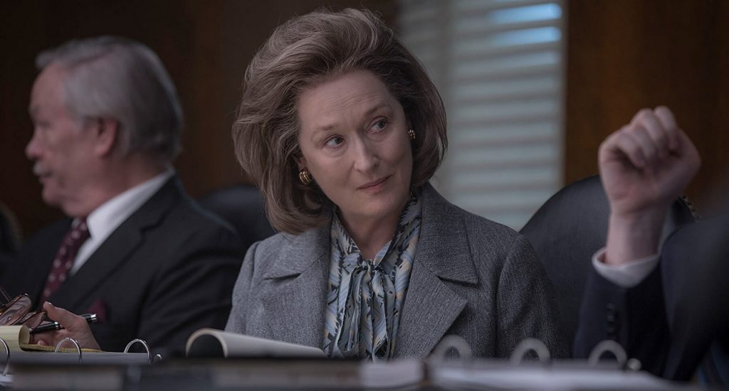 "Photo of Actress, Meryl Streep on the set of new movie, ""The Post"""