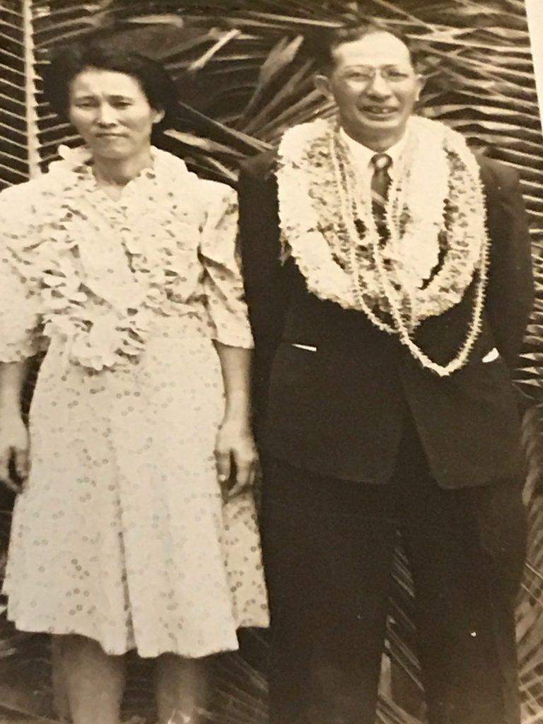 "Shigeo ""Robert"" Muroda with his wife Shizume."