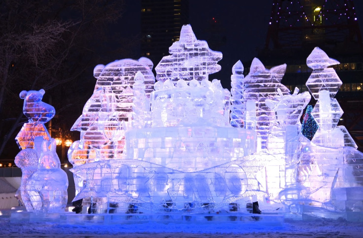 """Sapporo Snow Festival 2018,"" premieres on Wednesday, April 4, at 8:30 p.m."