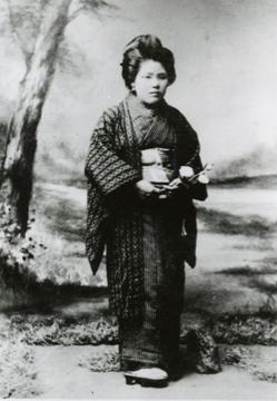 Haruno Tazawa's picture bride photo (Barbara F. Kawakami Collection)