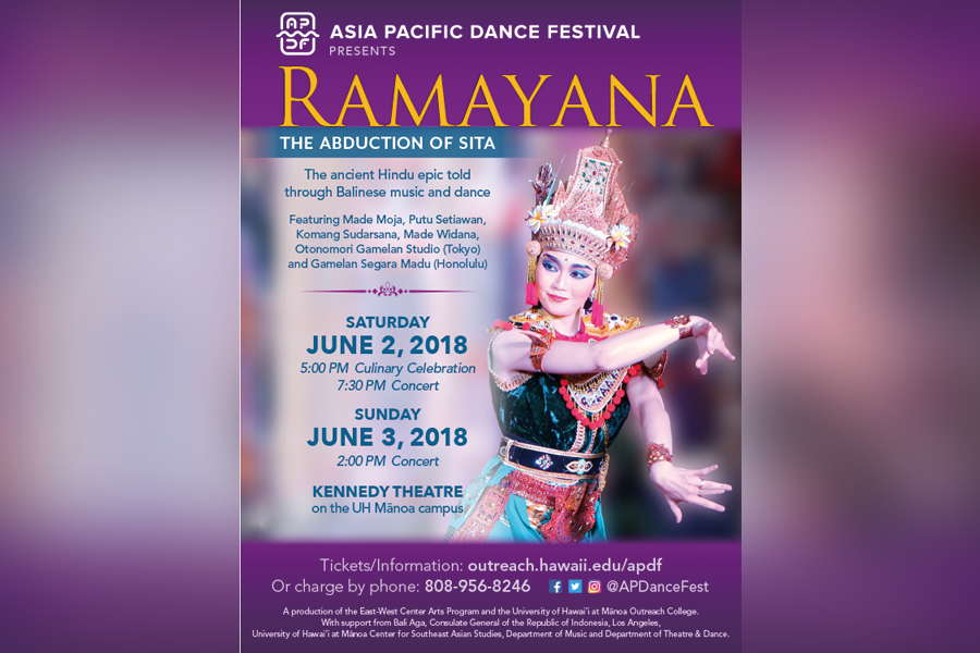 Promotion for 'Ramayana: The Abduction of Sita' for the Asia Pacific Dance Festival