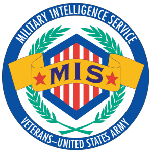 Logo for Military Intelligence Service, Veterans United States Army