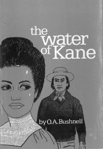 Book Cover 'The Water of Kane' by O.A. Bushnell