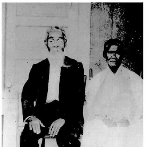 Sentarö Ishii and his wife Kahele, whom he met on a hillside in Kïpahulu, where the couple made their home. (Photos courtesy Oleanda Ku'uipo Kanaka'ole)