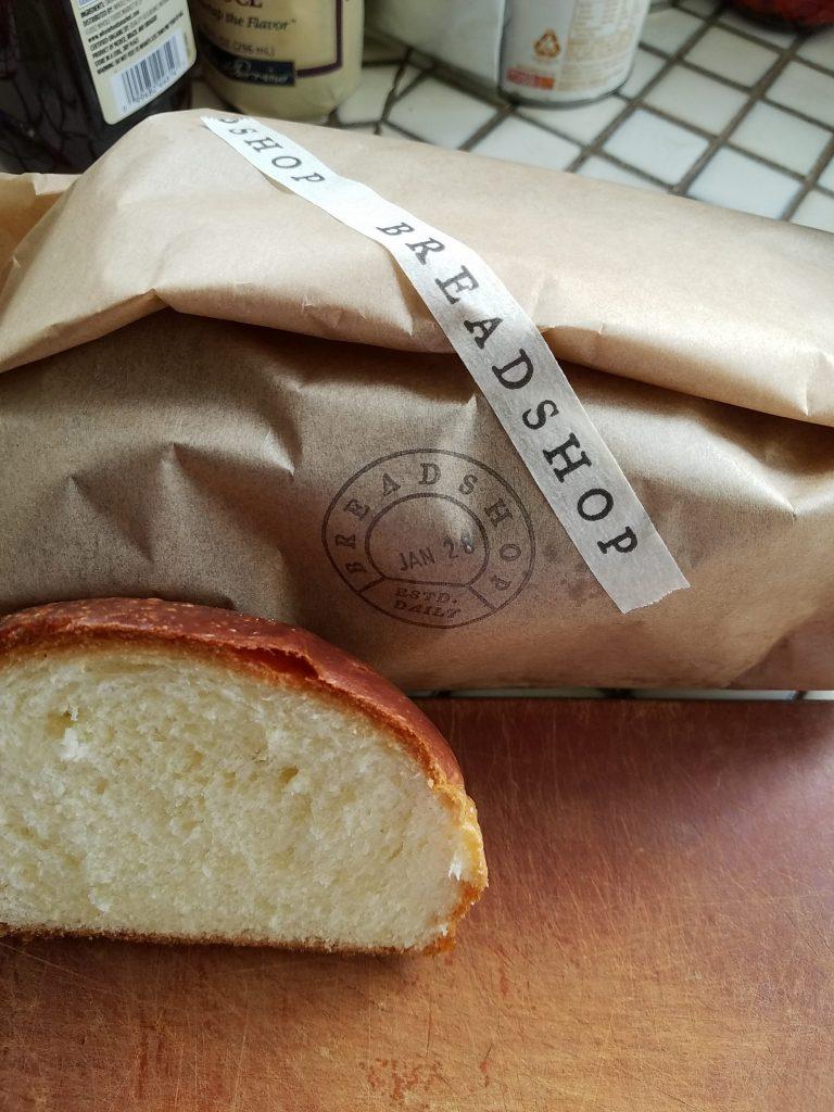 Brioche from Breadshop.