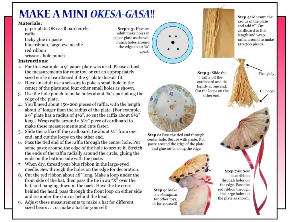 Culture 4 kids - 'Make a mini Okesa-Gasa!'