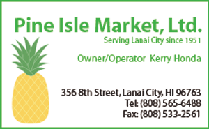 Ad for Pine Isle Market, Ltd.