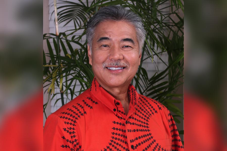 Governor, David Ige