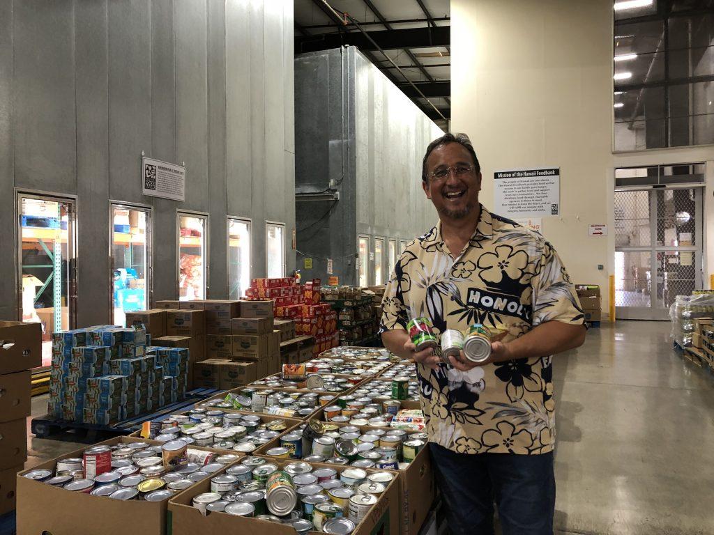 Hawaii Foodbank president and CEO Ron Mizutani.