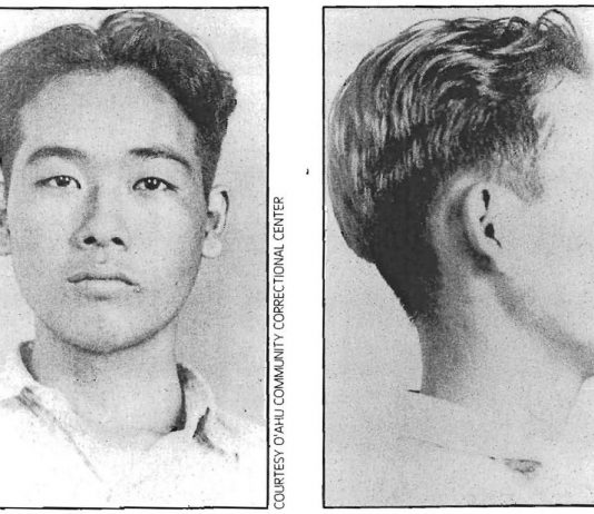 Professor Jonathan Okamura contends that serious legal questions can be raised about Myles Fukunaga's sanity at the time he murdered young Gill Jamieson. (Courtesy Oahu Community Correctional Center)