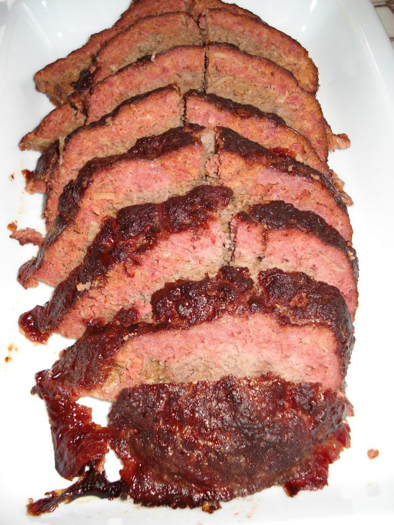 Whole smoked meatloaf. (Photos courtesy Ryan Tatsumoto)