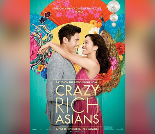 """Movie Poster with title """"Crazy Rich Asians"""""""