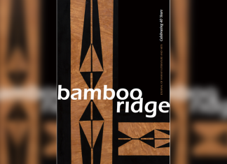 Book Cover titled 'Bamboo Ridge' Celebrating 40 Years