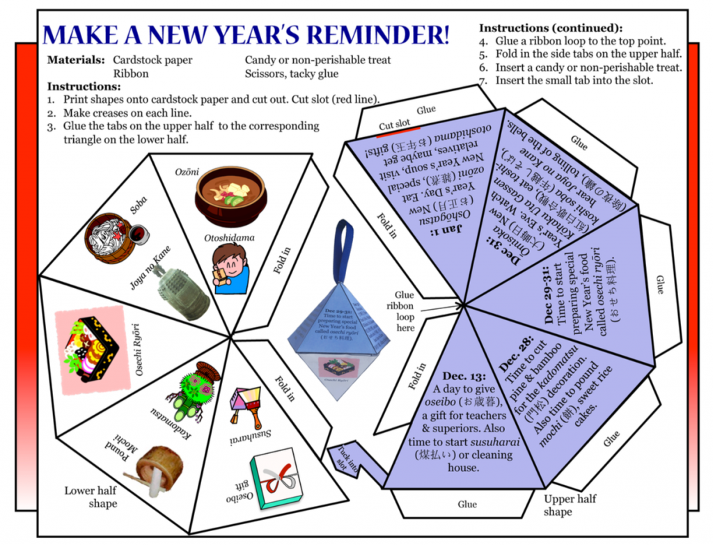 Culture4Kids! Make a New Year's Reminder