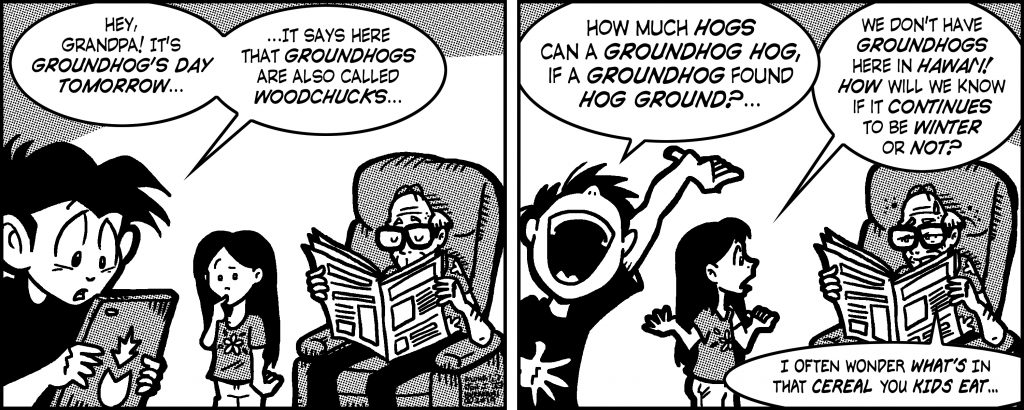 Comic Generation Gap, February 1, 2019 Issue