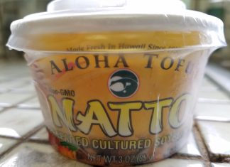 Aloha Tofu natto.