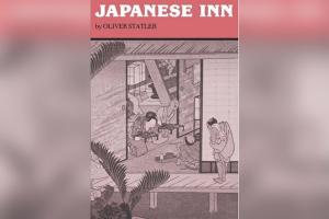 Book cover titled 'Japanese Inn' by Oliver Statler
