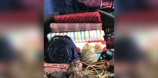 Photo of miscellaneous fabric and materials for sewers and crafters to create with