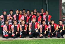 Team photo of Taishoji Taiko